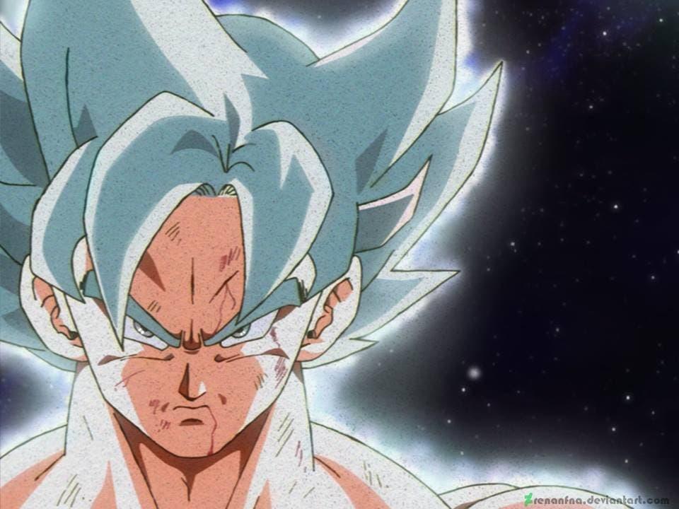 Así Sería Goku Ultra Instinto Con El Clásico Estilo De