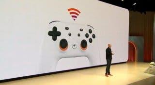 Así es Stadia Controller, el nuevo mando de Google para su plataforma de videojuegos