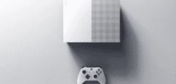 Esta sería la imagen de la Xbox One S sin lector de discos