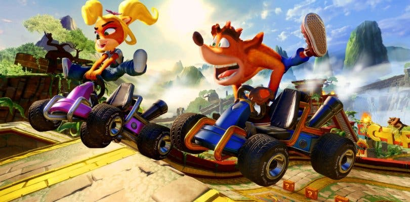 Crash Team Racing Nitro-Fueled revela un nuevo arte de su portada