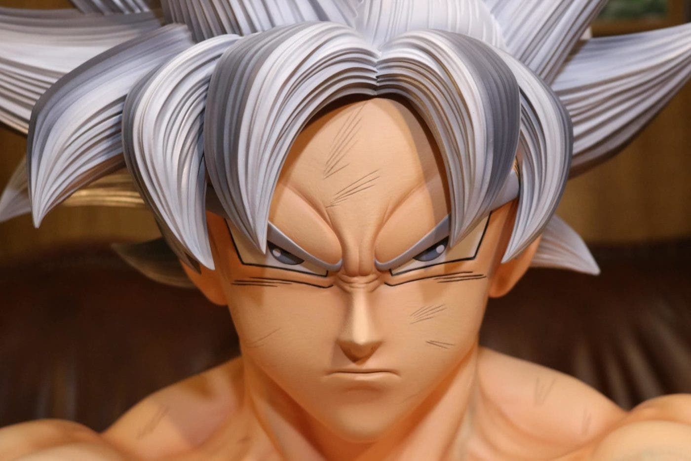 Imagen de Dragon Ball Super: El increíble busto de Goku Ultra Instinto que desearás tener