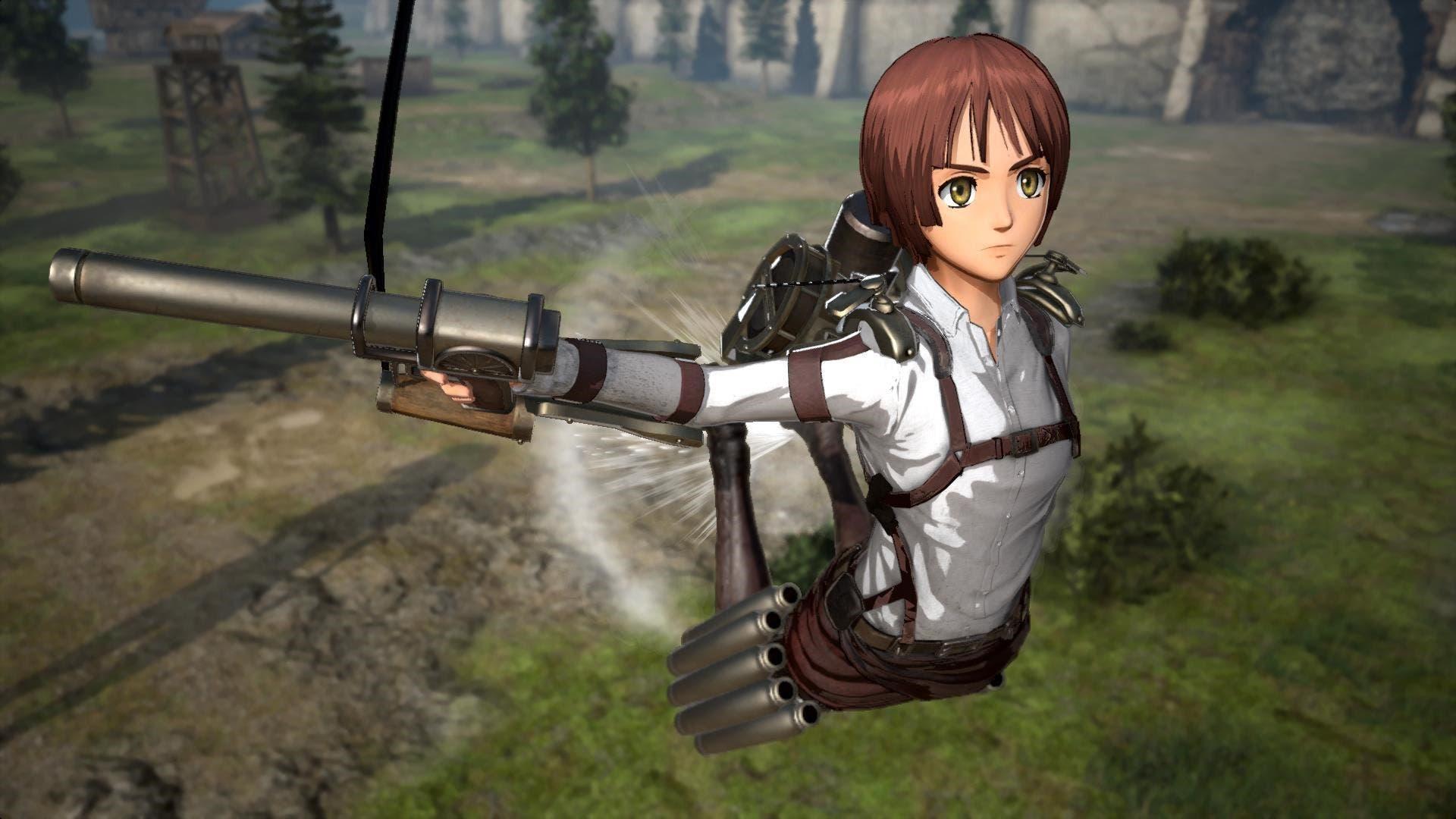 Imagen de Attack on Titan 2: Final Battle recibe la actualización 1.0.13