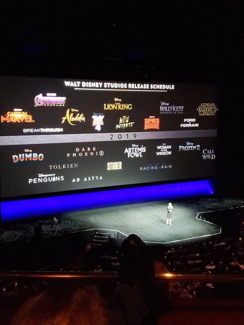 Calendario Fox.Asi Queda El Calendario De Estrenos Disney Fox Para Este 2019