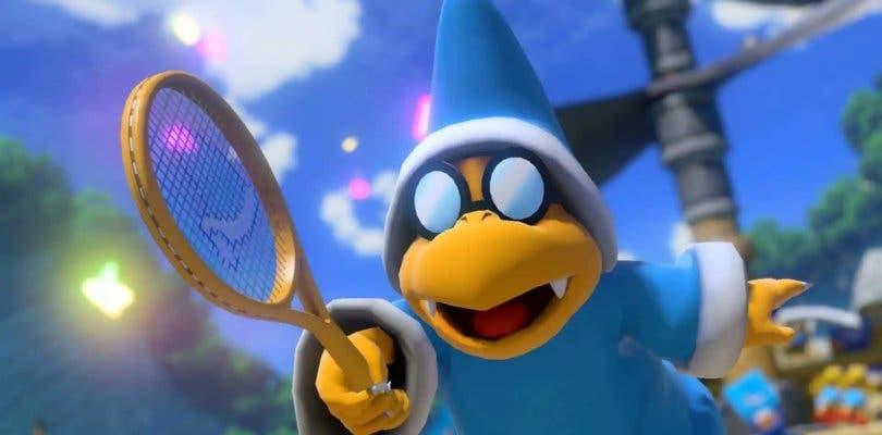 Kamek debuta en Mario Tennis Aces y se luce en un nuevo gameplay