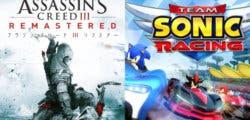 Más detalles sobre Assassin's Creed III y Team Sonic Racing en Switch