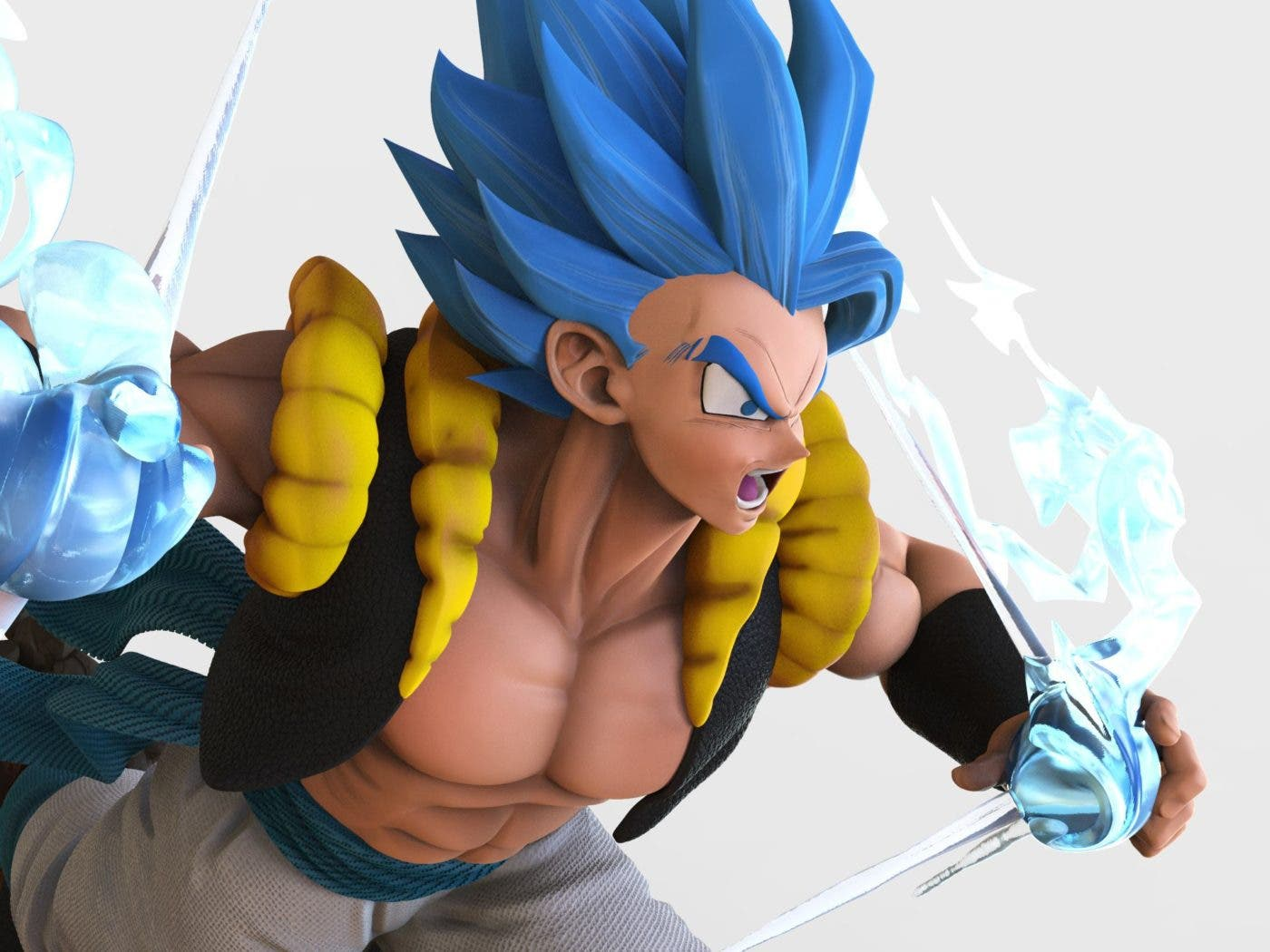 Imagen de Gogeta deslumbra en la nueva figura de Dragon Ball Super: Broly