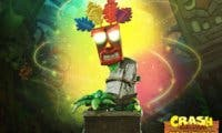 First 4 Figures presenta una increíble figura de Crash Bandicoot – Aku Aku