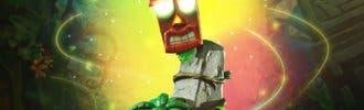 First 4 Figures presenta una increíble figura de Crash Bandicoot – Aku Aku