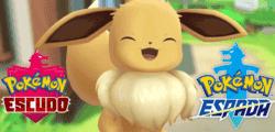 Las evoluciones de Eevee para Pokémon Espada y Escudo podrían haberse filtrado por error