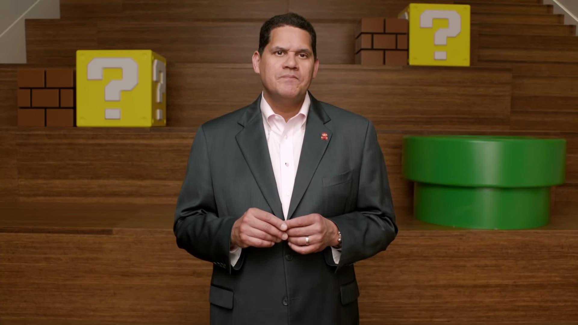 Imagen de El popular Reggie Fils-Aime evitó que Nintendo America cambiase su logo por uno 'más adulto'