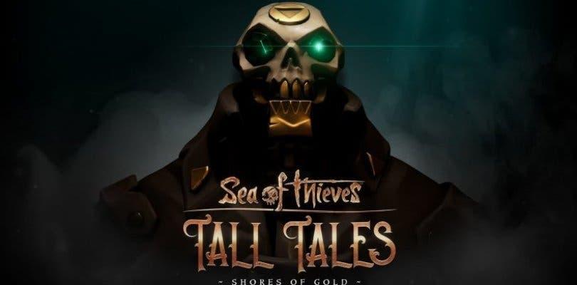 Sea of Thieves recibirá este mes una expansión de la historia: Tall Tales – Shores of Gold