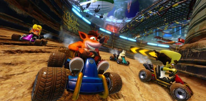 Comparan el rendimiento de Crash Team Racing: Nitro-Fueled en PS4, Xbox One y Switch