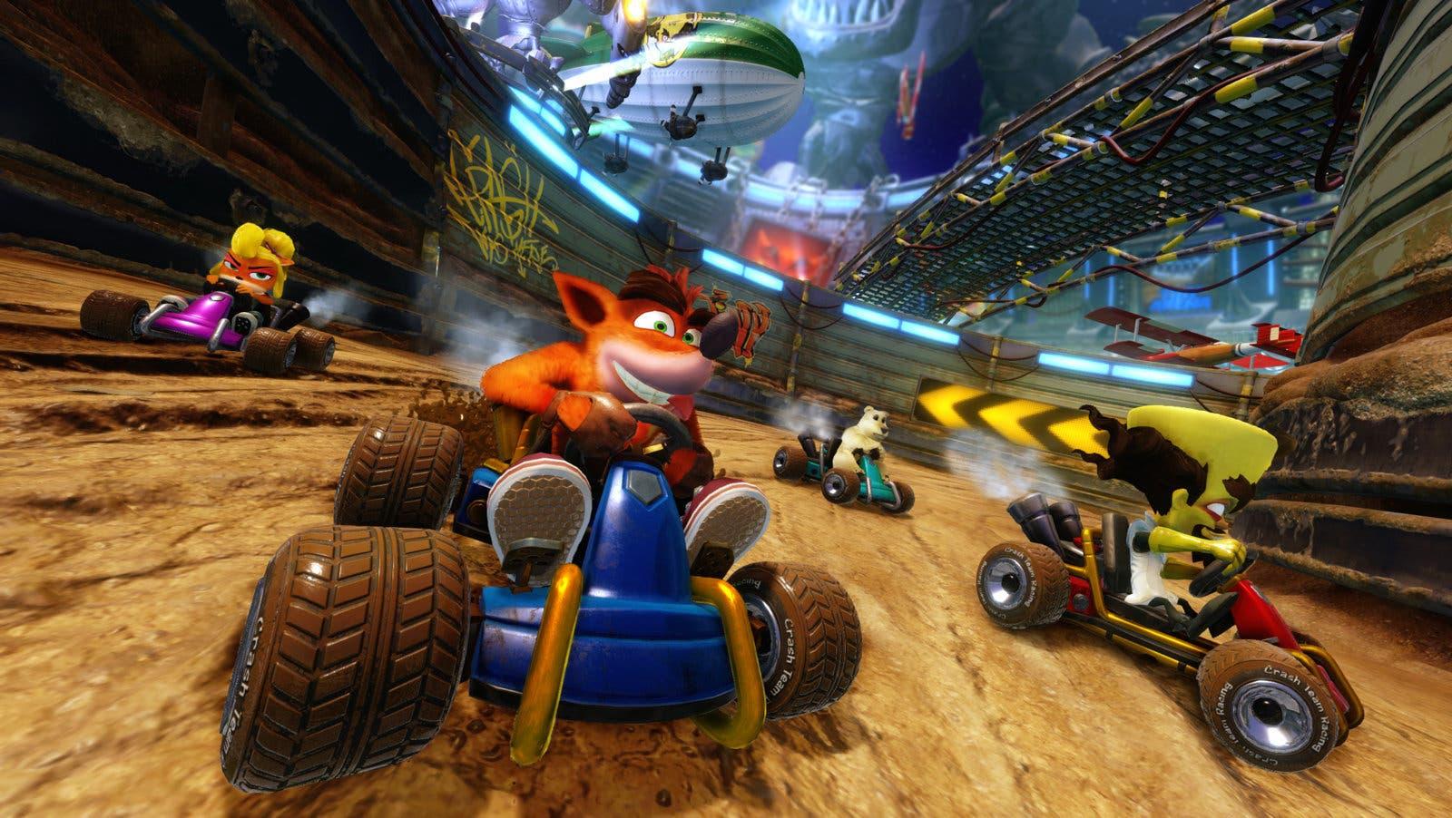 Imagen de Crash Team Racing: Nitro-Fueled incluye una curiosa novedad