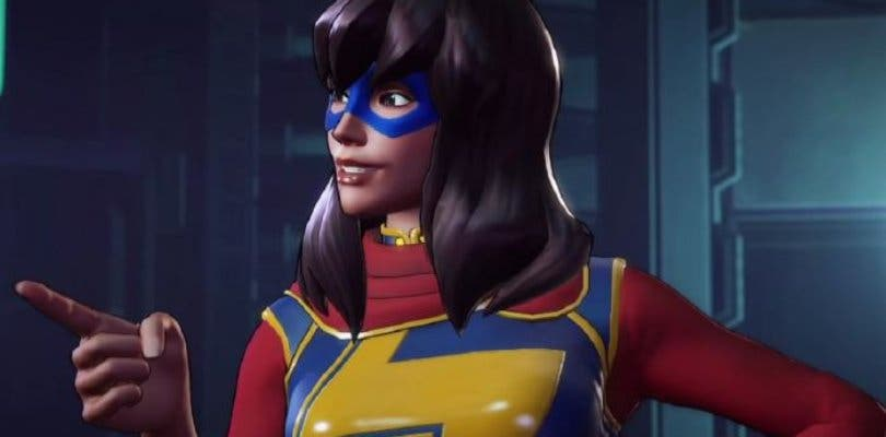 Ms. Marvel salta a la lucha en un nuevo vídeo de Marvel Ultimate Alliance 3: The Black Order