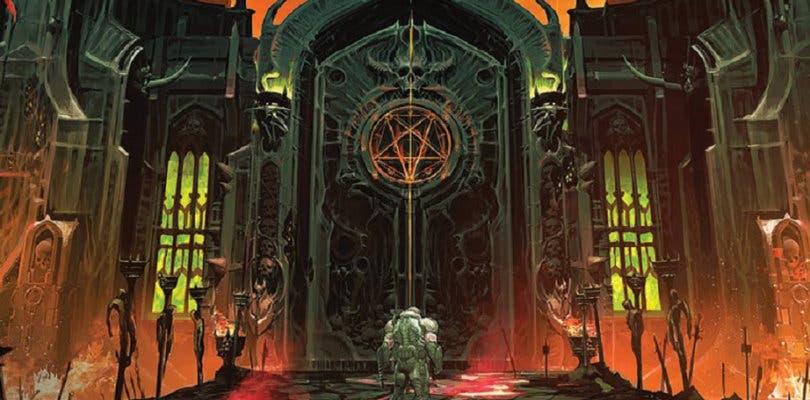 DOOM Eternal muestra las puertas del infierno en un espectacular arte conceptual