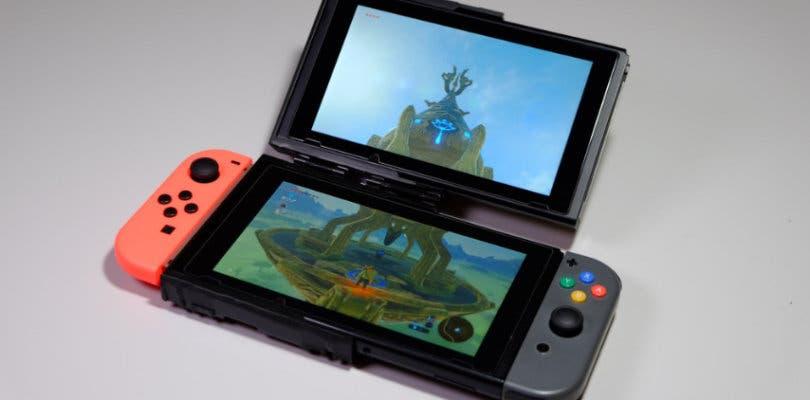 Crean una Nintendo Switch con doble pantalla al estilo Nintendo DS