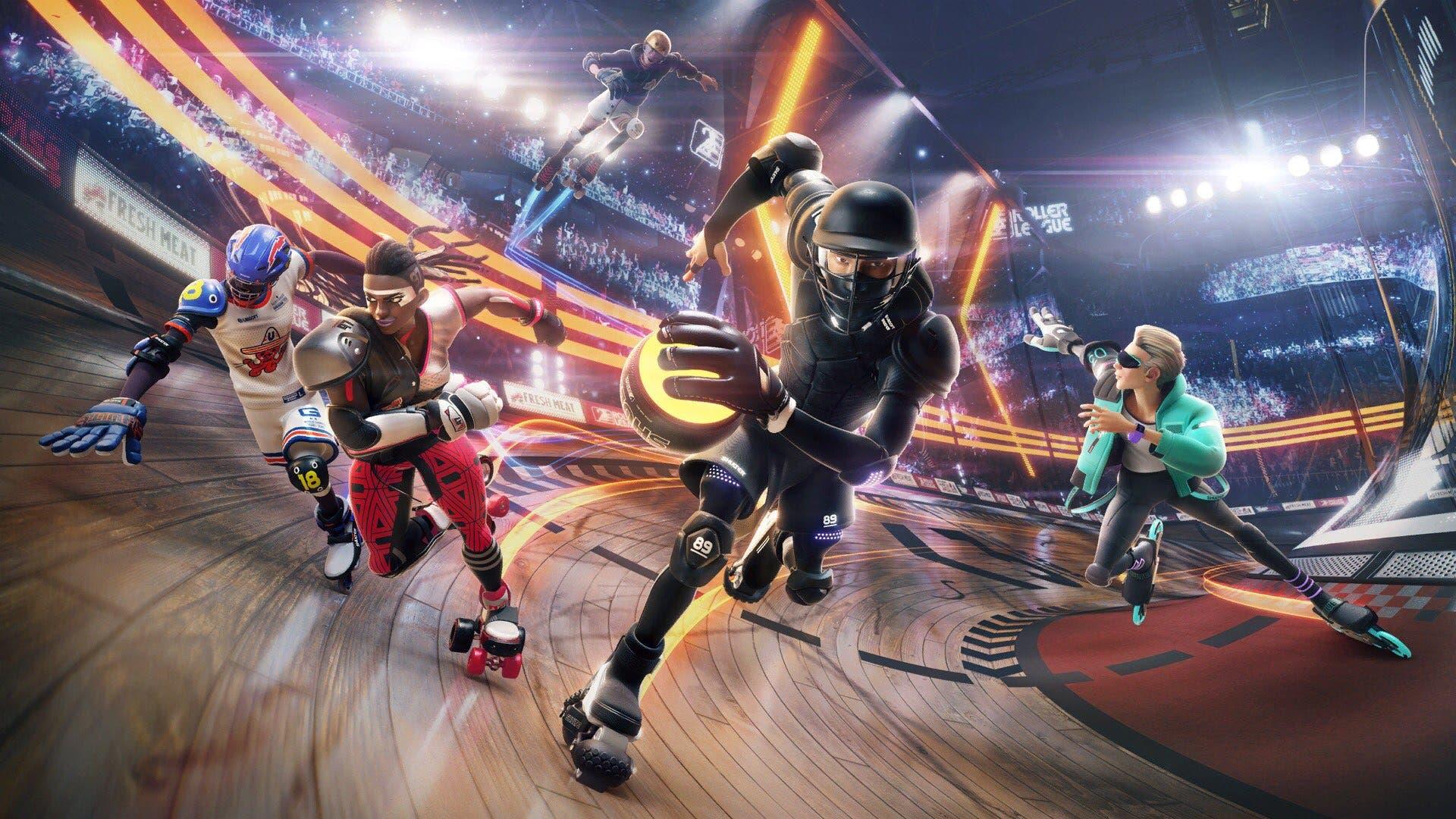 Imagen de Filtradas las primeras imágenes y tráiler de Roller Champions, la nueva IP de Ubisoft