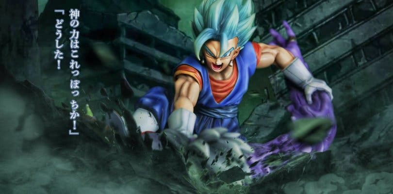 Dragon Ball Super presenta una nueva e increíble figura de Vegetto Blue