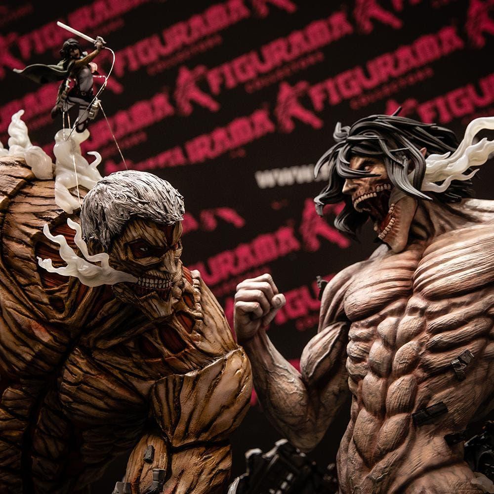 Imagen de Anunciada la mejor figura que existe de Ataque a los titanes