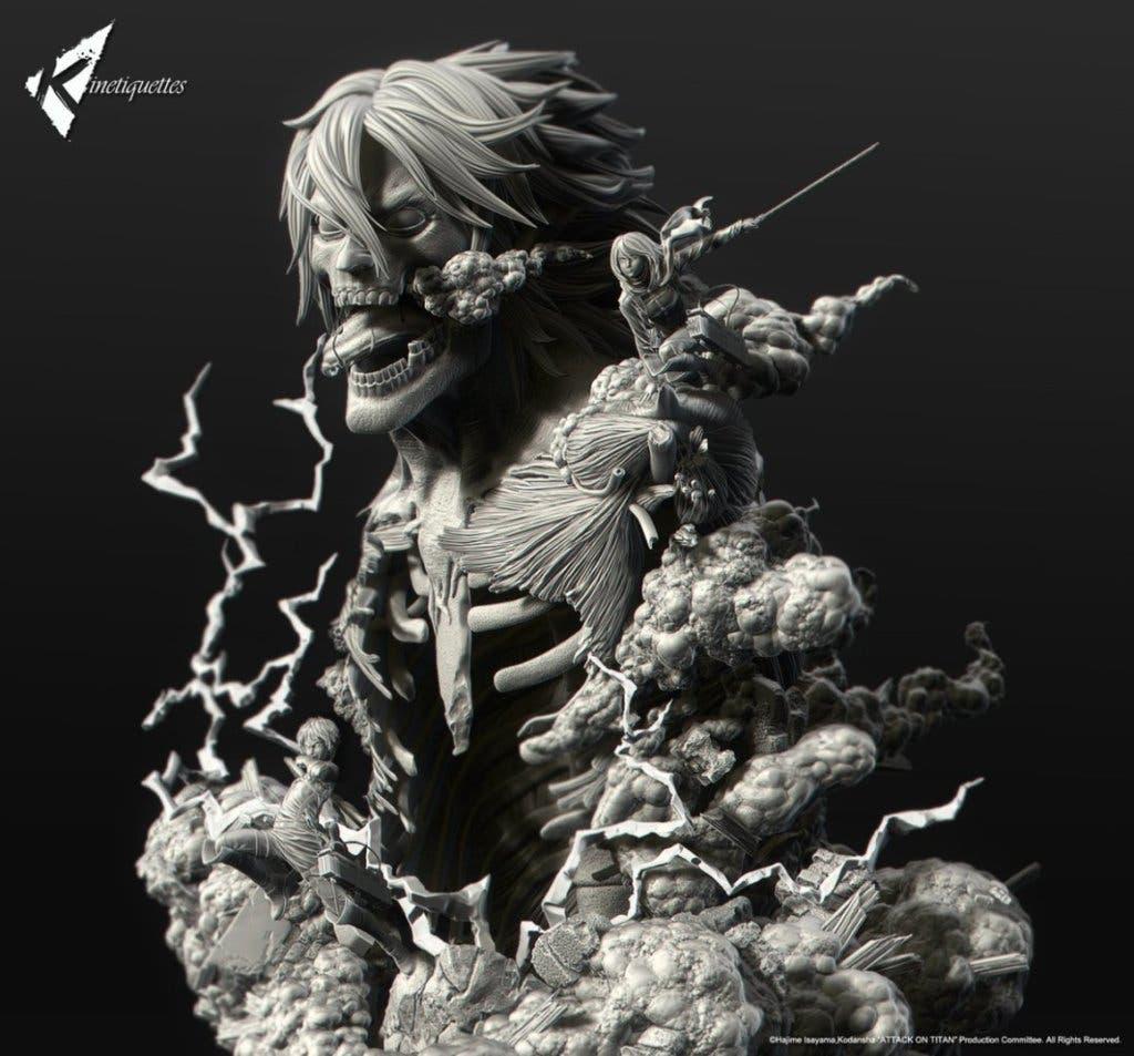 Imagen de Esta es la nueva figura de Ataque a los titanes que te volverá loco