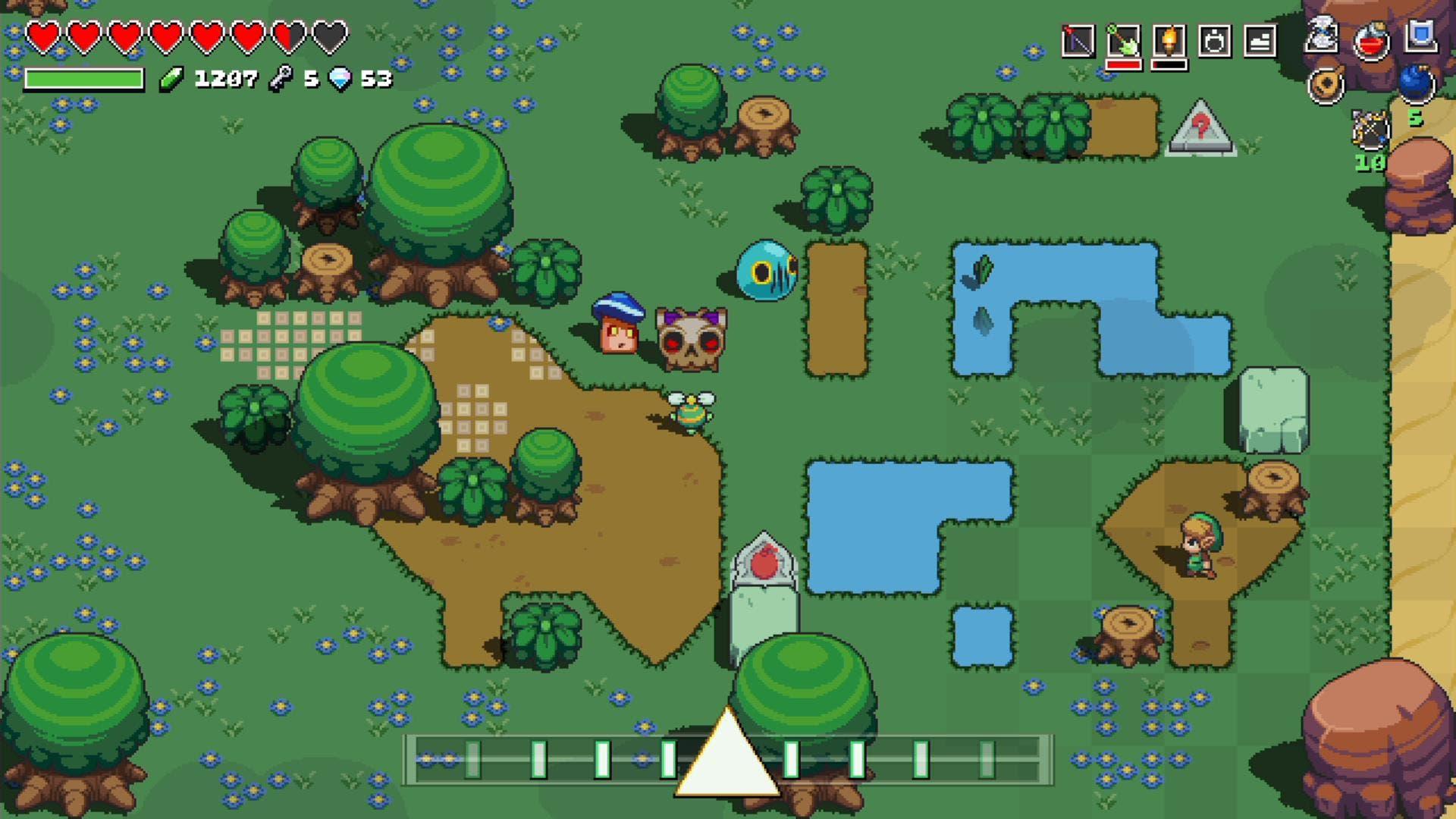 Imagen de Nintendo lanza nuevo tráiler de Cadence of Hyrule explicando cómo se juega a este curioso título crossover
