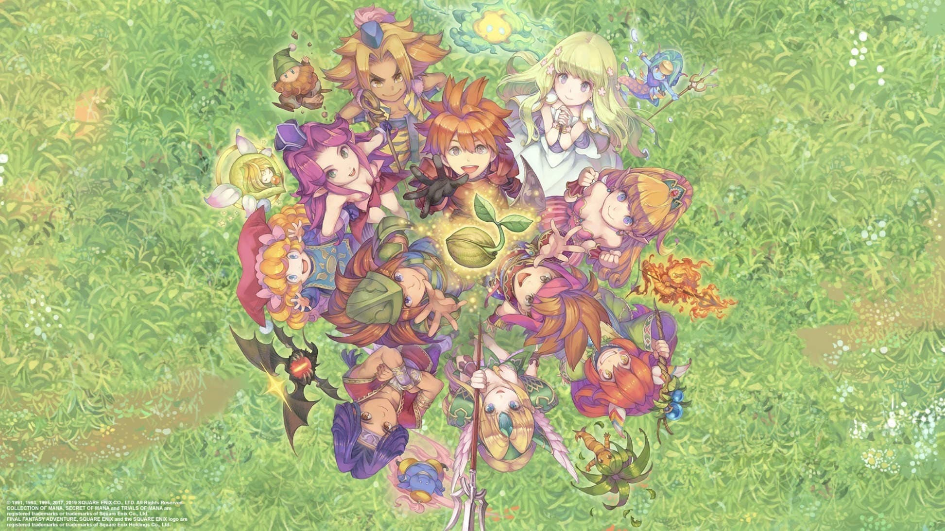 Imagen de Collection of Mana llegará finalmente en formato físico a Nintendo Switch en agosto