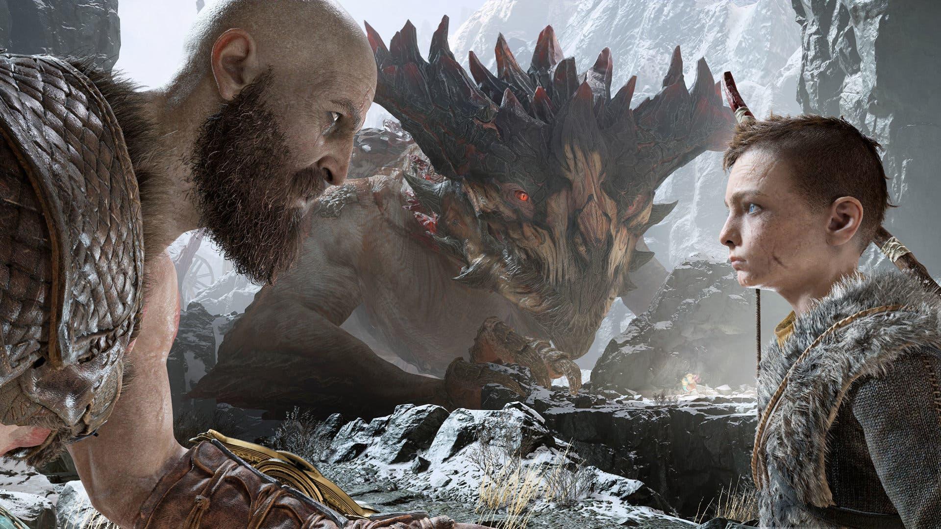 Imagen de Descubre cómo se vería God of War ambientado en el universo de Dragon Ball Z