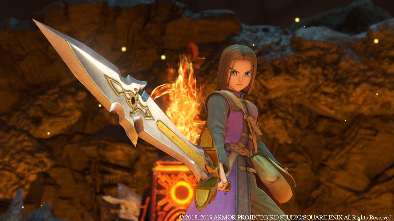 Imagen de Dragon Quest XI S se deja ver en un gameplay de 30 minutos con todas sus novedades