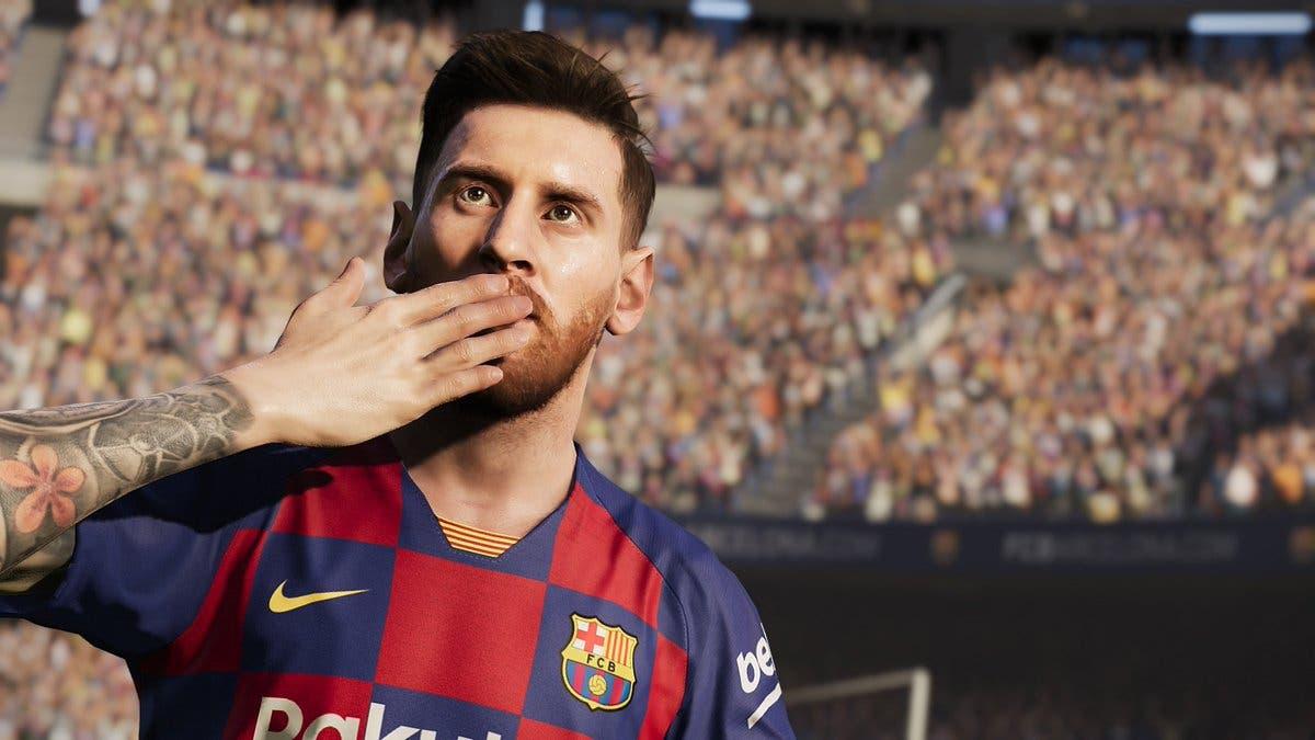 Imagen de Este es el resultado del Napoles vs FC Barcelona simulado en PES 2020