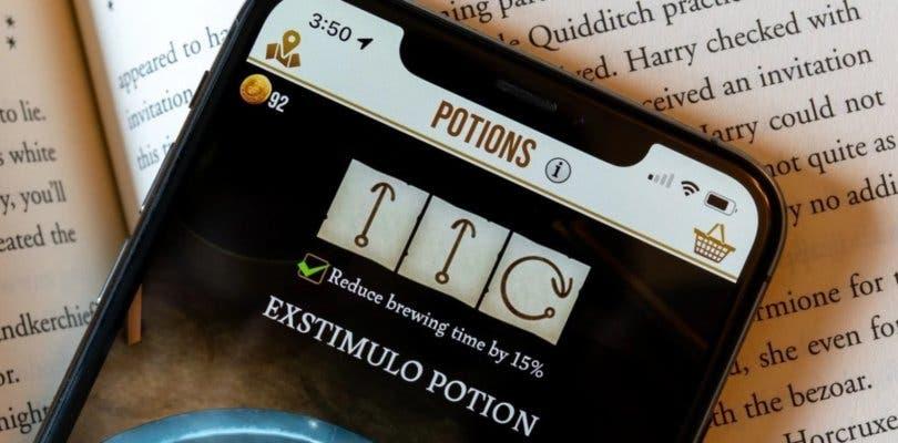 Guía de gestos o notas maestras para acelerar las pociones en Harry Potter Wizards Unite