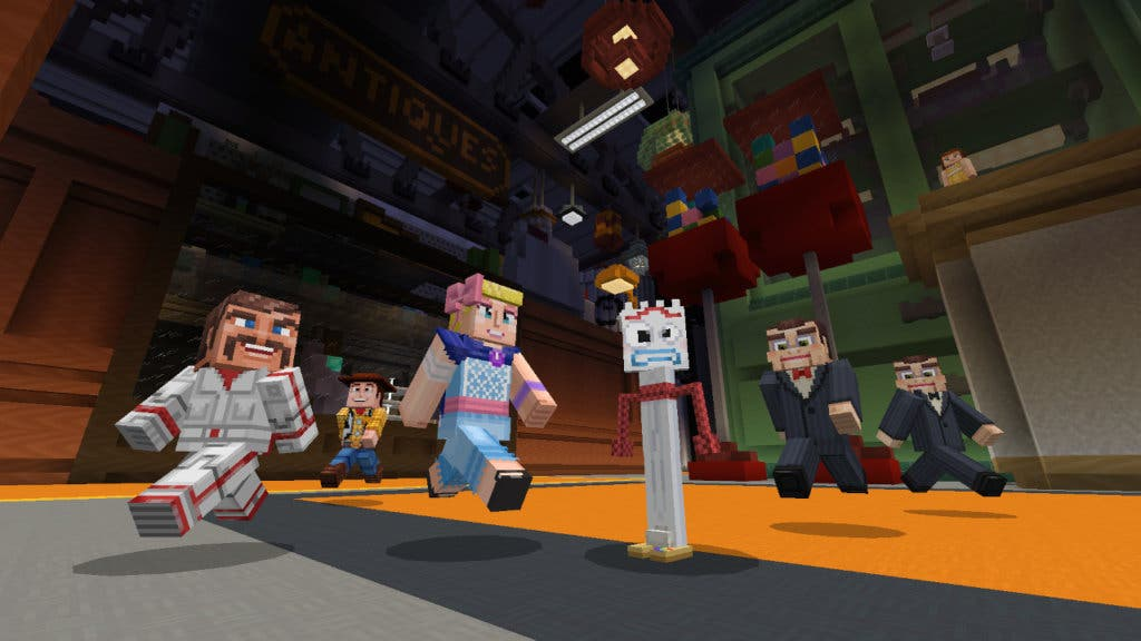 Toy Story x Minecraft Screenshot