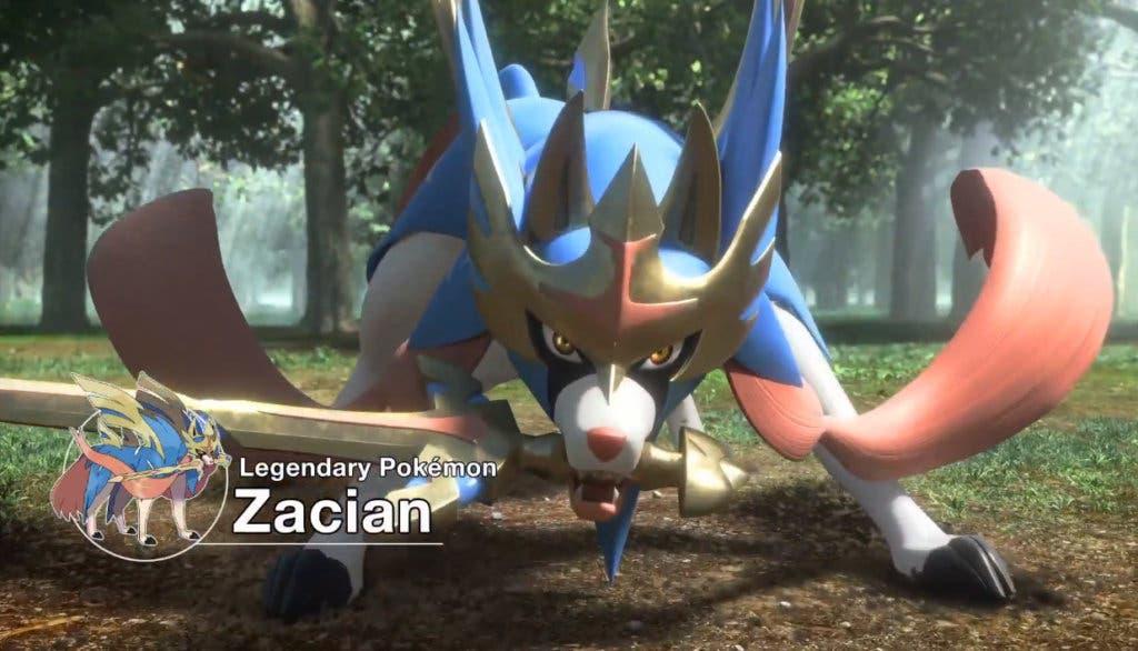 Zacian Y Zamazenta Son Las Nuevas Criaturas Legendarias De