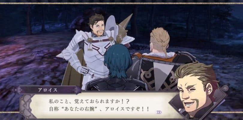 Fire Emblem: Three Houses presenta hoy Alois, de los Caballeros de Seiros