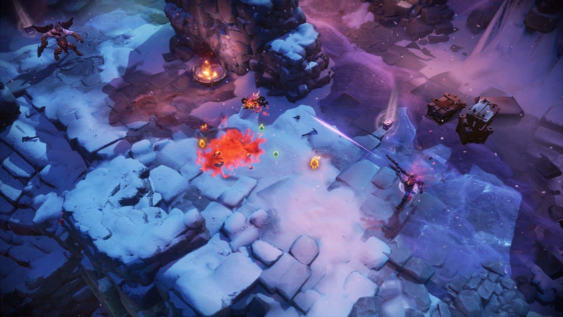 Imagen de Darksiders Genesis se exhibe en un largo gameplay mostrando su estilo Diablo