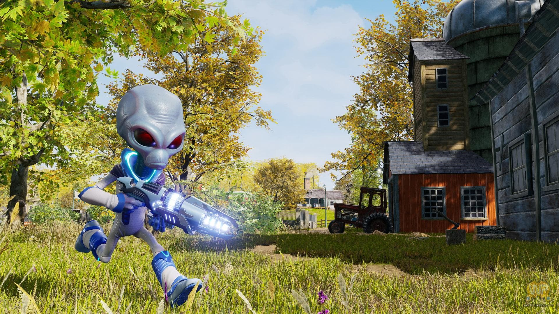 Imagen de El remake de Destroy All Humans! luce su aspecto in-game en una serie de capturas