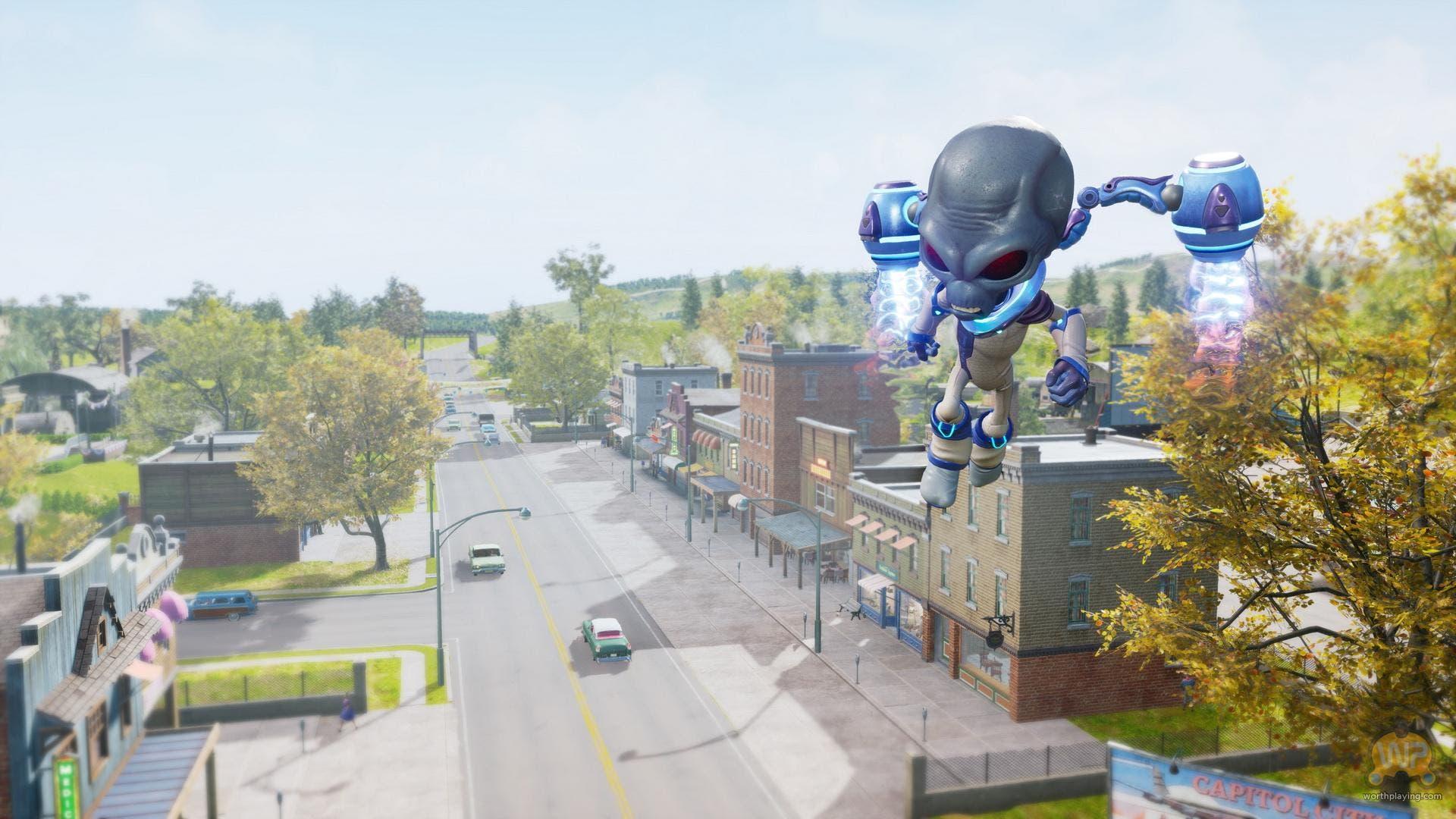 Imagen de El remake de Destroy All Humans! luce una comparativa respecto al original