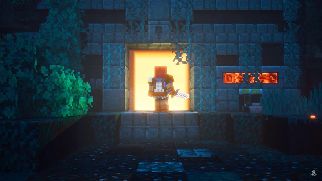 Imagen de Minecraft Dungeons fecha su lanzamiento para primavera de 2020