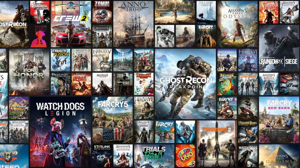 Uplay+ Catálogo de juegos