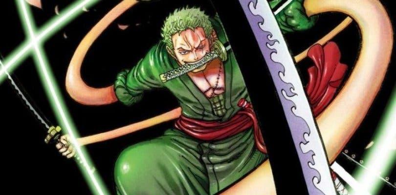 El autor de One Piece dibuja a Zoro con los poderes Gomu Gomu de Luffy