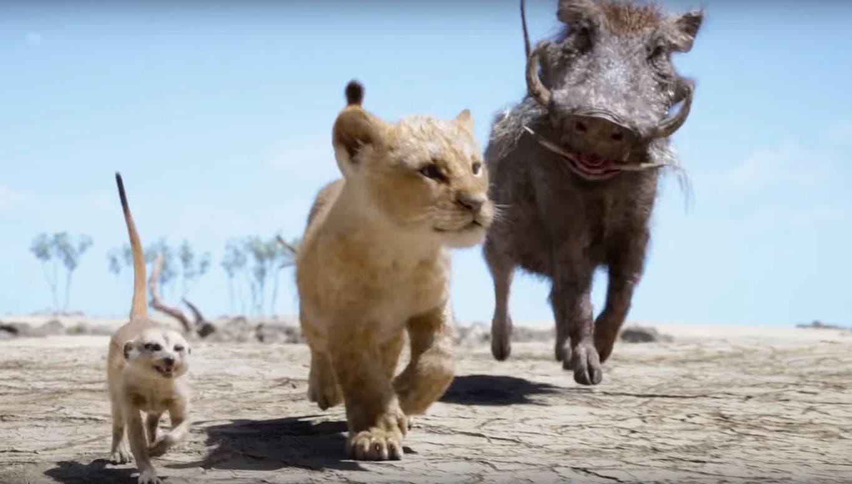Timon Y Pumba Deslumbran En El Nuevo Clip De El Rey Leon