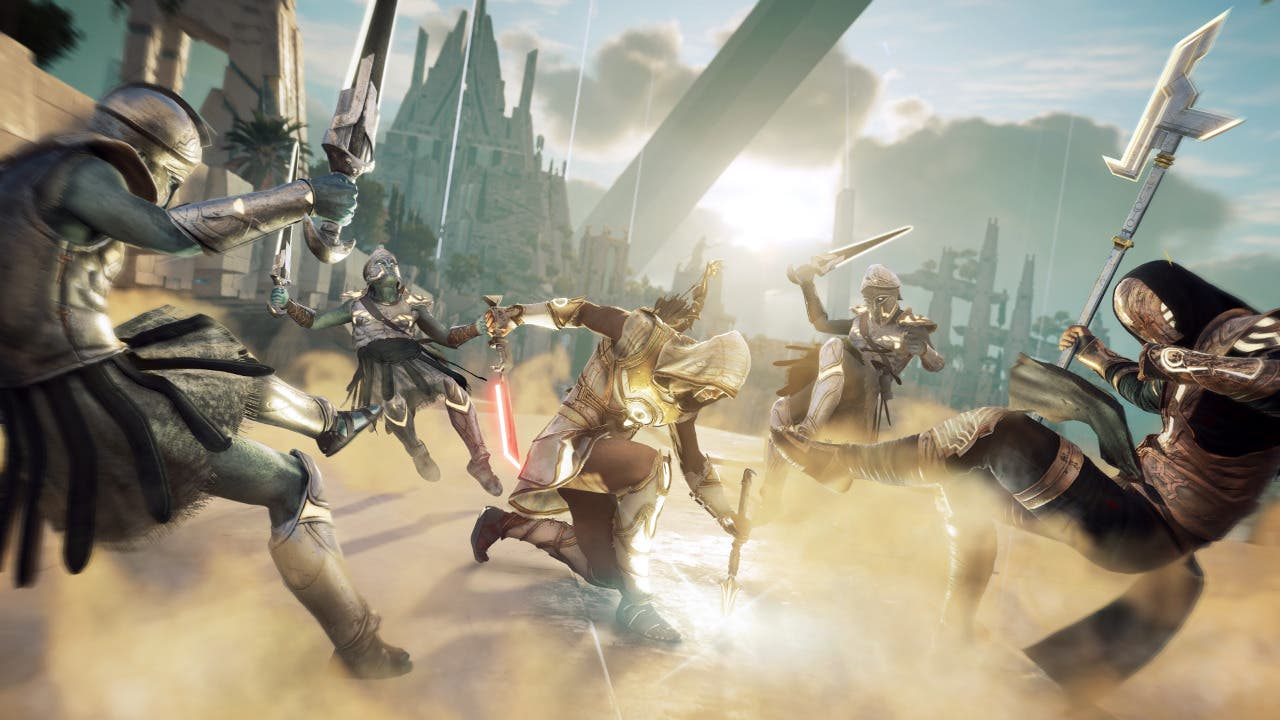 Imagen de Assassin's Creed Odyssey: El Juicio de la Atlántida se luce en un nuevo gameplay