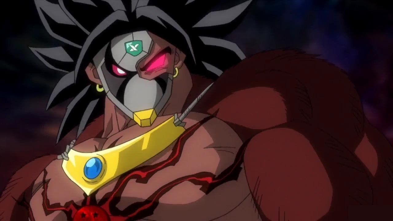 Imagen de Dark Broly hace aparición en el opening de Super Dragon Ball Heroes Universe Mission 10