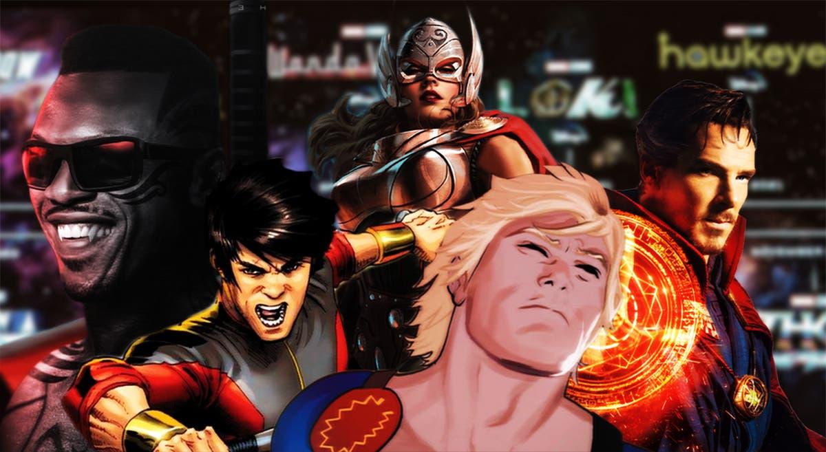 Imagen de Así queda la Fase 4 de Marvel: Viuda Negra, Doctor Strange 2, Thor 4 y más