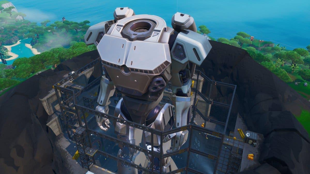 Imagen de Una cuenta atrás indica cuando empezará el evento del monstruo y el robot de Fortnite