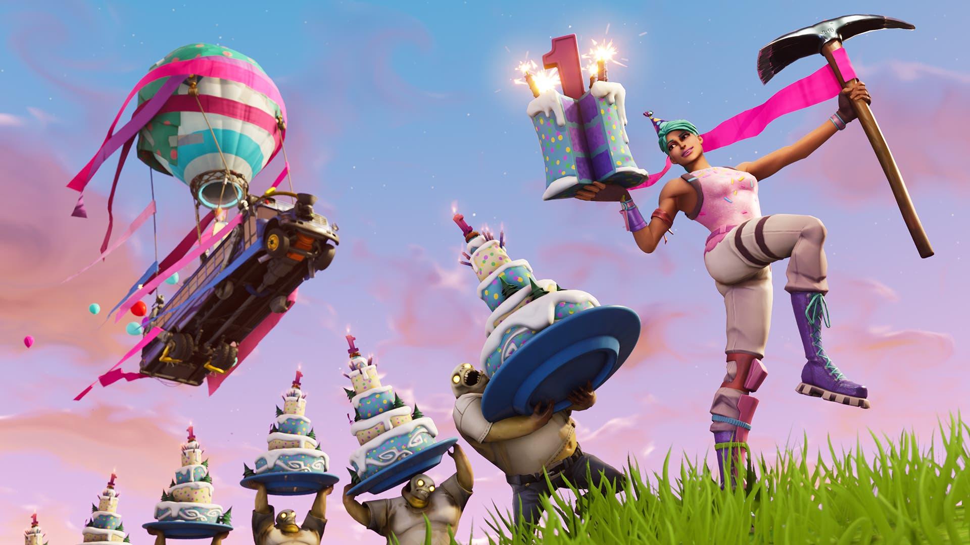 Imagen de Se filtra el nuevo evento de cumpleaños con el que contará Fortnite