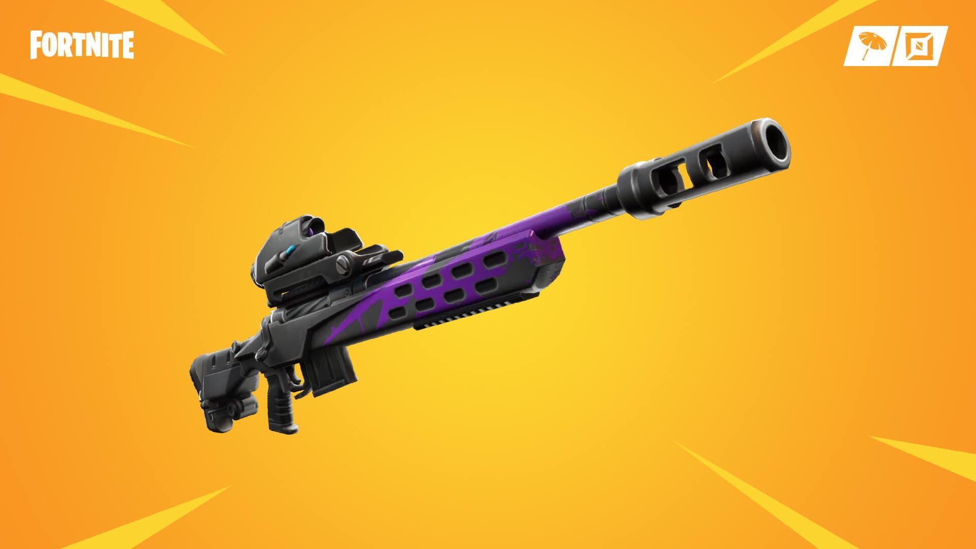 Imagen de El fusil de tirador exploratormentas llega a Fortnite en la actualización 9.41
