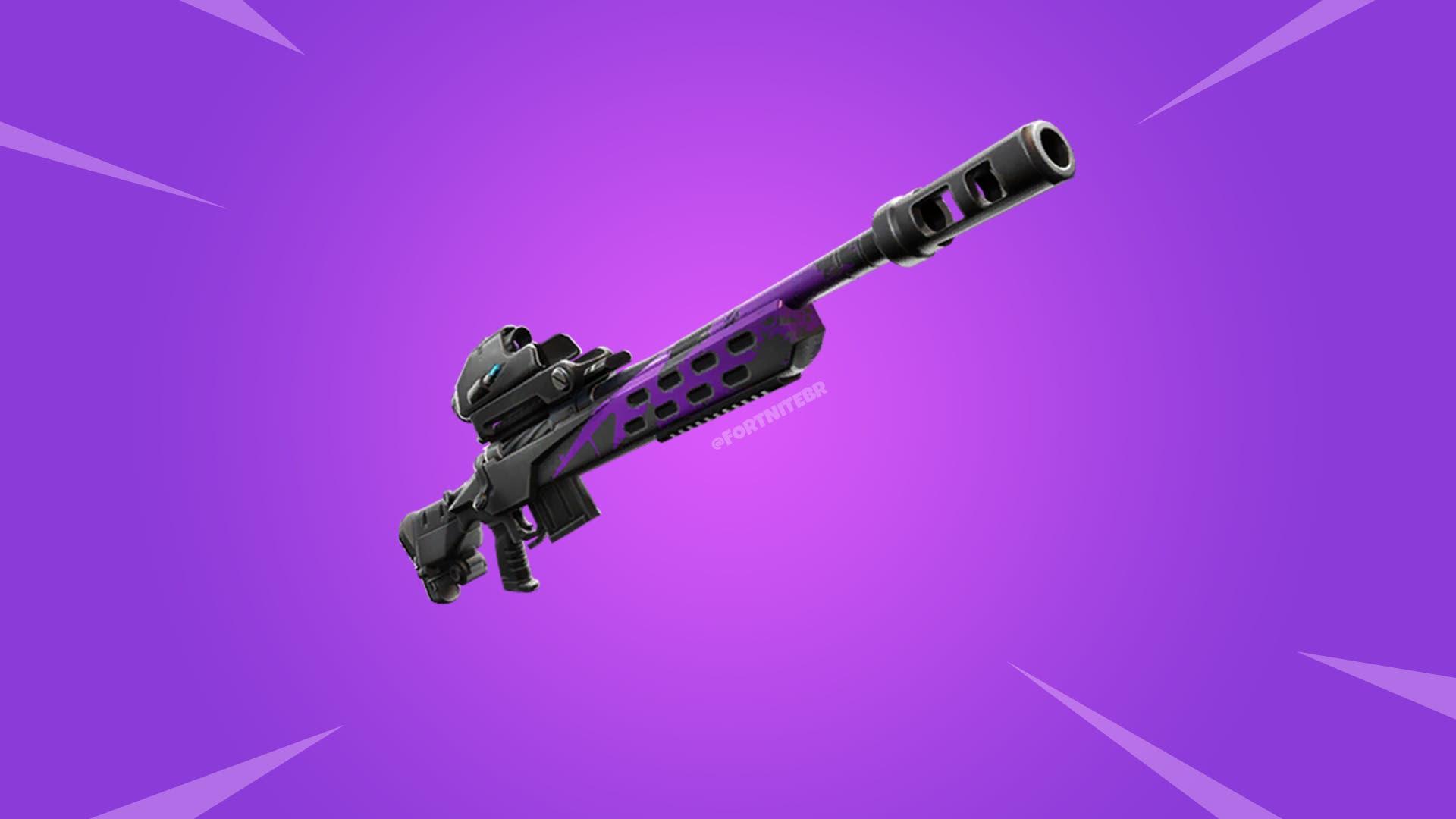Imagen de El francotirador Storm Scout se ha filtrado en los archivos de la actualización 9.40 de Fortnite