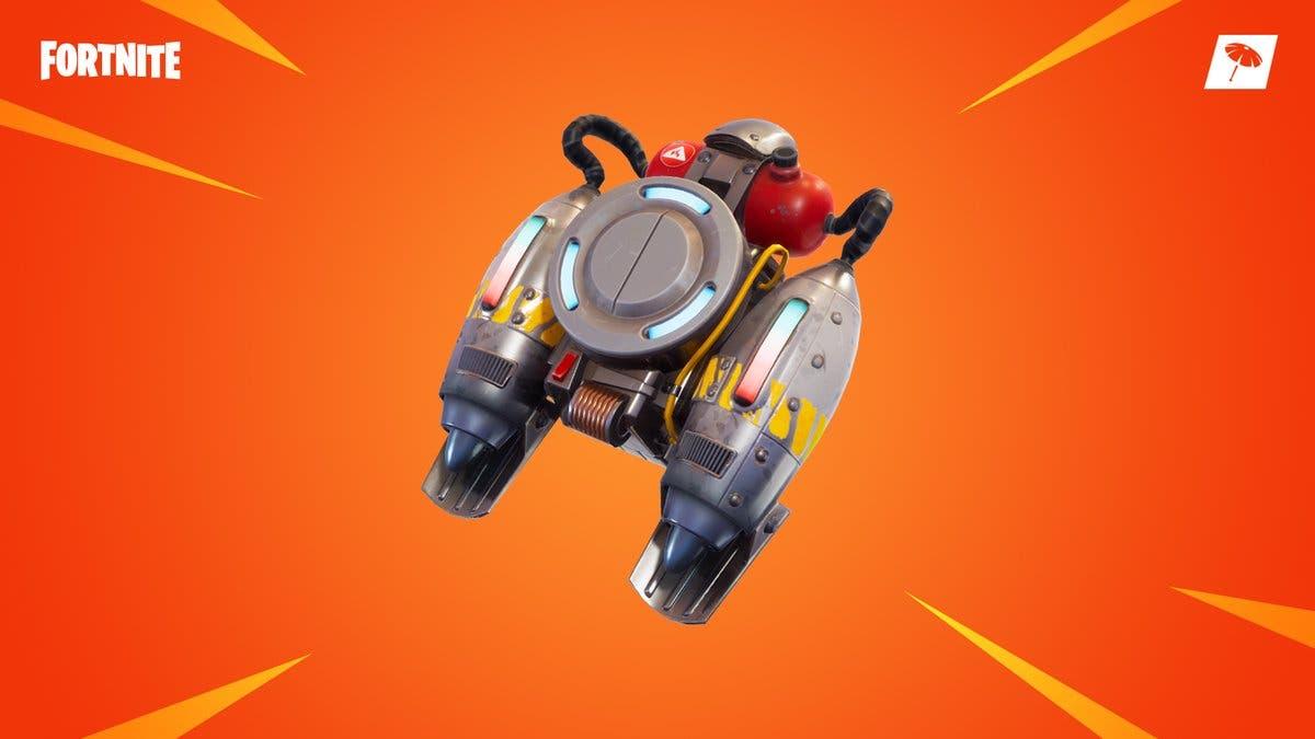 Imagen de El jetpack vuelve a estar disponible en Fortnite por un tiempo limitado