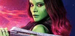 Zoe Saldana habla sobre el futuro de Gamora en Guardianes de la Galaxia Vol. 3