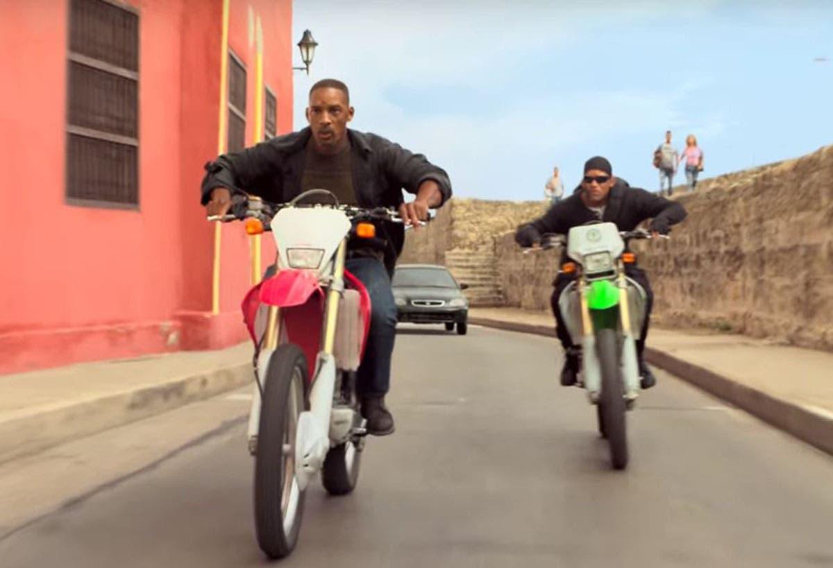 Imagen de Will Smith, una moto y Will Smith en el nuevo tráiler de Géminis